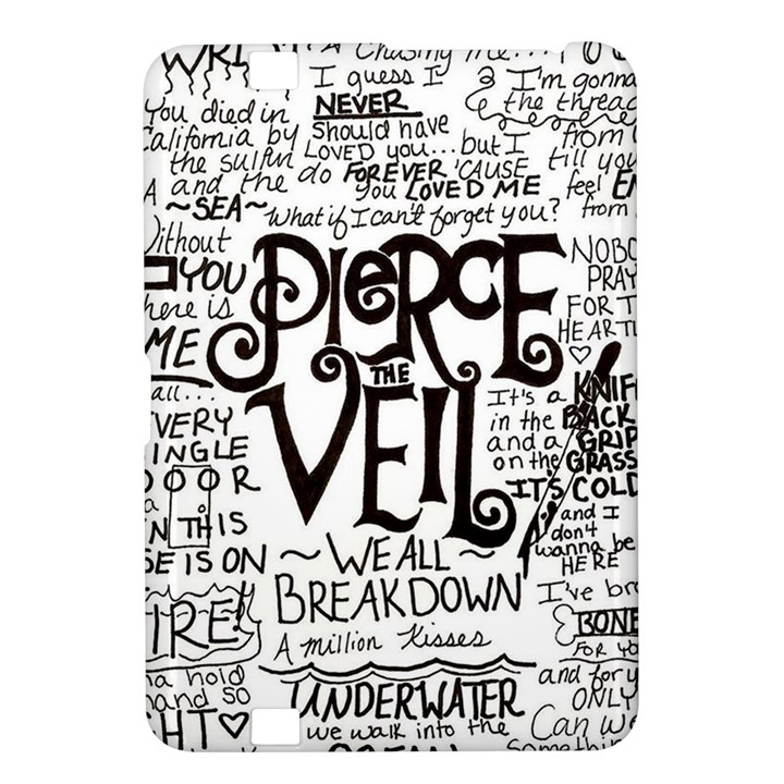 Pierce The Veil Music Band Group Fabric Art Cloth Poster Kindle Fire HD 8.9