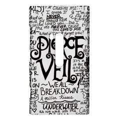 Pierce The Veil Music Band Group Fabric Art Cloth Poster Nokia Lumia 920