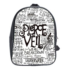 Pierce The Veil Music Band Group Fabric Art Cloth Poster School Bags (XL)