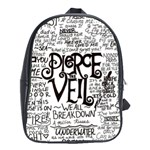 Pierce The Veil Music Band Group Fabric Art Cloth Poster School Bags (XL)  Front
