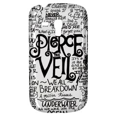 Pierce The Veil Music Band Group Fabric Art Cloth Poster Samsung Galaxy S3 MINI I8190 Hardshell Case