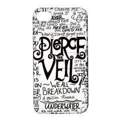 Pierce The Veil Music Band Group Fabric Art Cloth Poster Apple Iphone 4/4s Hardshell Case With Stand