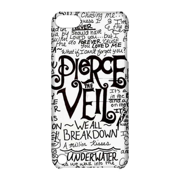 Pierce The Veil Music Band Group Fabric Art Cloth Poster Apple iPod Touch 5 Hardshell Case with Stand