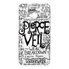 Pierce The Veil Music Band Group Fabric Art Cloth Poster HTC One M7 Hardshell Case