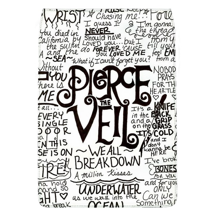 Pierce The Veil Music Band Group Fabric Art Cloth Poster Flap Covers (L)