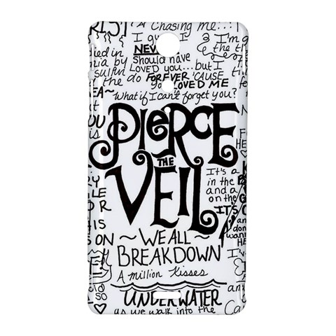 Pierce The Veil Music Band Group Fabric Art Cloth Poster Sony Xperia TX