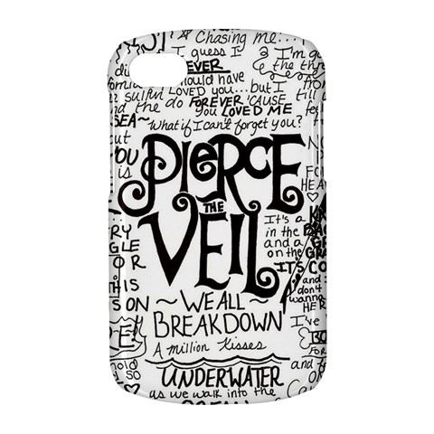 Pierce The Veil Music Band Group Fabric Art Cloth Poster BlackBerry Q10