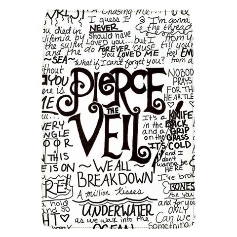 Pierce The Veil Music Band Group Fabric Art Cloth Poster Flap Covers (S)