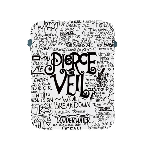 Pierce The Veil Music Band Group Fabric Art Cloth Poster Apple iPad 2/3/4 Protective Soft Cases