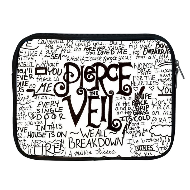 Pierce The Veil Music Band Group Fabric Art Cloth Poster Apple iPad 2/3/4 Zipper Cases