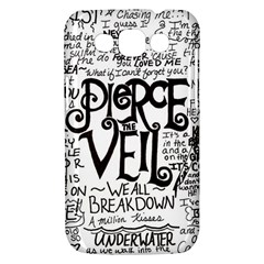 Pierce The Veil Music Band Group Fabric Art Cloth Poster Samsung Galaxy Win I8550 Hardshell Case