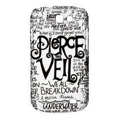 Pierce The Veil Music Band Group Fabric Art Cloth Poster Samsung Galaxy Express I8730 Hardshell Case