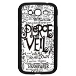 Pierce The Veil Music Band Group Fabric Art Cloth Poster Samsung Galaxy Grand DUOS I9082 Case (Black) Front