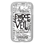 Pierce The Veil Music Band Group Fabric Art Cloth Poster Samsung Galaxy Grand DUOS I9082 Case (White) Front