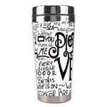 Pierce The Veil Music Band Group Fabric Art Cloth Poster Stainless Steel Travel Tumblers Left