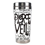 Pierce The Veil Music Band Group Fabric Art Cloth Poster Stainless Steel Travel Tumblers Center