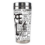Pierce The Veil Music Band Group Fabric Art Cloth Poster Stainless Steel Travel Tumblers Right