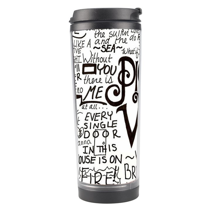 Pierce The Veil Music Band Group Fabric Art Cloth Poster Travel Tumbler