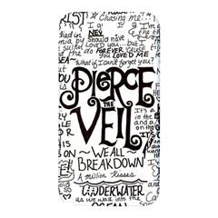 Pierce The Veil Music Band Group Fabric Art Cloth Poster Samsung Note 2 N7100 Hardshell Back Case