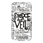 Pierce The Veil Music Band Group Fabric Art Cloth Poster Samsung Note 2 N7100 Hardshell Back Case Front