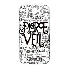 Pierce The Veil Music Band Group Fabric Art Cloth Poster Samsung Galaxy S4 I9500/i9505  Hardshell Back Case