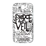 Pierce The Veil Music Band Group Fabric Art Cloth Poster Samsung Galaxy S4 I9500/I9505  Hardshell Back Case Front