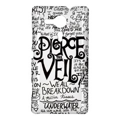 Pierce The Veil Music Band Group Fabric Art Cloth Poster Sony Xperia SP