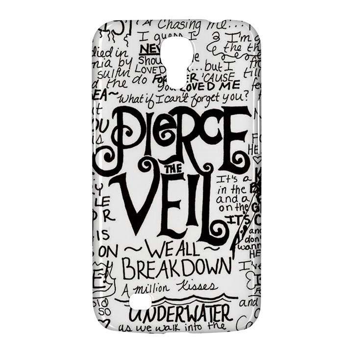Pierce The Veil Music Band Group Fabric Art Cloth Poster Samsung Galaxy Mega 6.3  I9200 Hardshell Case