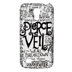 Pierce The Veil Music Band Group Fabric Art Cloth Poster Galaxy S4 Mini