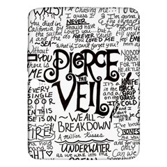 Pierce The Veil Music Band Group Fabric Art Cloth Poster Samsung Galaxy Tab 3 (10.1 ) P5200 Hardshell Case