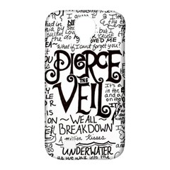 Pierce The Veil Music Band Group Fabric Art Cloth Poster Samsung Galaxy S4 Classic Hardshell Case (pc+silicone)