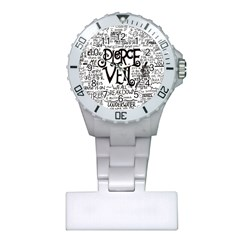 Pierce The Veil Music Band Group Fabric Art Cloth Poster Plastic Nurses Watch