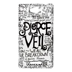 Pierce The Veil Music Band Group Fabric Art Cloth Poster Sony Xperia C (S39H)