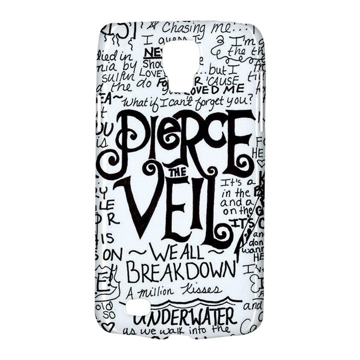 Pierce The Veil Music Band Group Fabric Art Cloth Poster Galaxy S4 Active