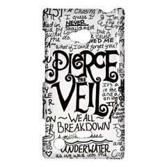 Pierce The Veil Music Band Group Fabric Art Cloth Poster Nokia Lumia 720