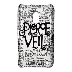 Pierce The Veil Music Band Group Fabric Art Cloth Poster Nokia Lumia 620