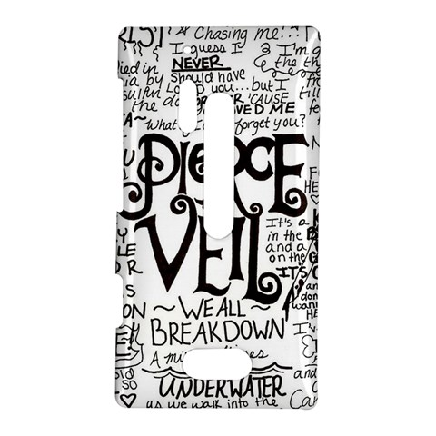 Pierce The Veil Music Band Group Fabric Art Cloth Poster Nokia Lumia 928