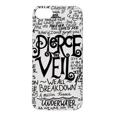 Pierce The Veil Music Band Group Fabric Art Cloth Poster Apple Iphone 5s/ Se Hardshell Case