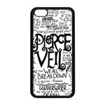 Pierce The Veil Music Band Group Fabric Art Cloth Poster Apple iPhone 5C Seamless Case (Black) Front