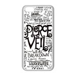 Pierce The Veil Music Band Group Fabric Art Cloth Poster Apple iPhone 5C Seamless Case (White) Front