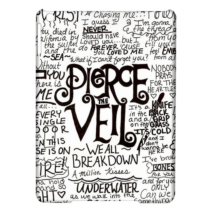 Pierce The Veil Music Band Group Fabric Art Cloth Poster iPad Air Hardshell Cases