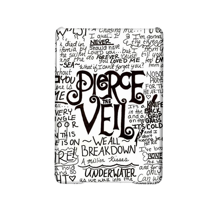 Pierce The Veil Music Band Group Fabric Art Cloth Poster iPad Mini 2 Hardshell Cases