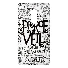 Pierce The Veil Music Band Group Fabric Art Cloth Poster HTC One Max (T6) Hardshell Case