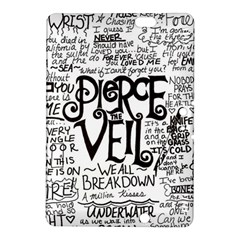 Pierce The Veil Music Band Group Fabric Art Cloth Poster Kindle Fire Hdx 8 9  Hardshell Case