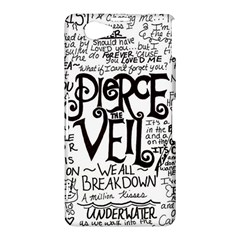 Pierce The Veil Music Band Group Fabric Art Cloth Poster Sony Xperia Z1 Compact