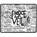 Pierce The Veil Music Band Group Fabric Art Cloth Poster Double Sided Fleece Blanket (Medium)  60 x50 Blanket Back