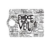 Pierce The Veil Music Band Group Fabric Art Cloth Poster Kindle Fire HD (2013) Flip 360 Case Front
