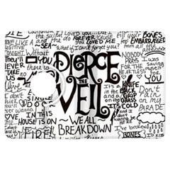 Pierce The Veil Music Band Group Fabric Art Cloth Poster Kindle Fire HDX Flip 360 Case