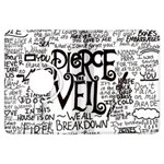Pierce The Veil Music Band Group Fabric Art Cloth Poster Kindle Fire HDX Flip 360 Case Front