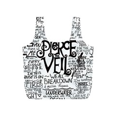 Pierce The Veil Music Band Group Fabric Art Cloth Poster Full Print Recycle Bags (S)